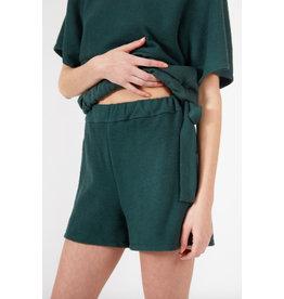Fcapuano Short Jane coton ouaté vert