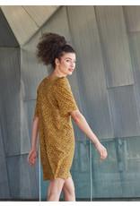 Dagg & Stacey Robe Mirelle moutarde