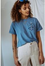 Cultivées T-shirt Maëlle bleu
