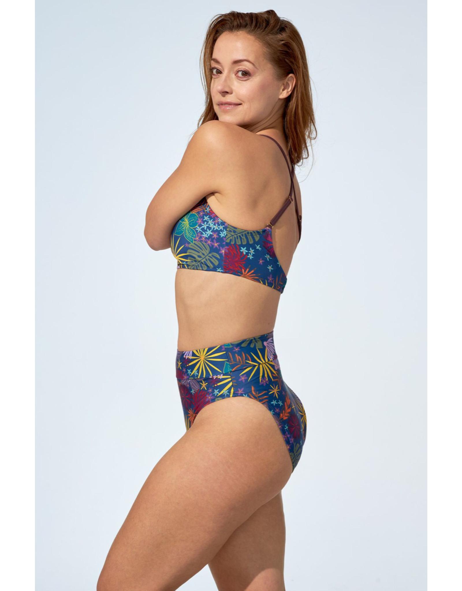 Selfish Swimwear Haut Béatrice fleurs