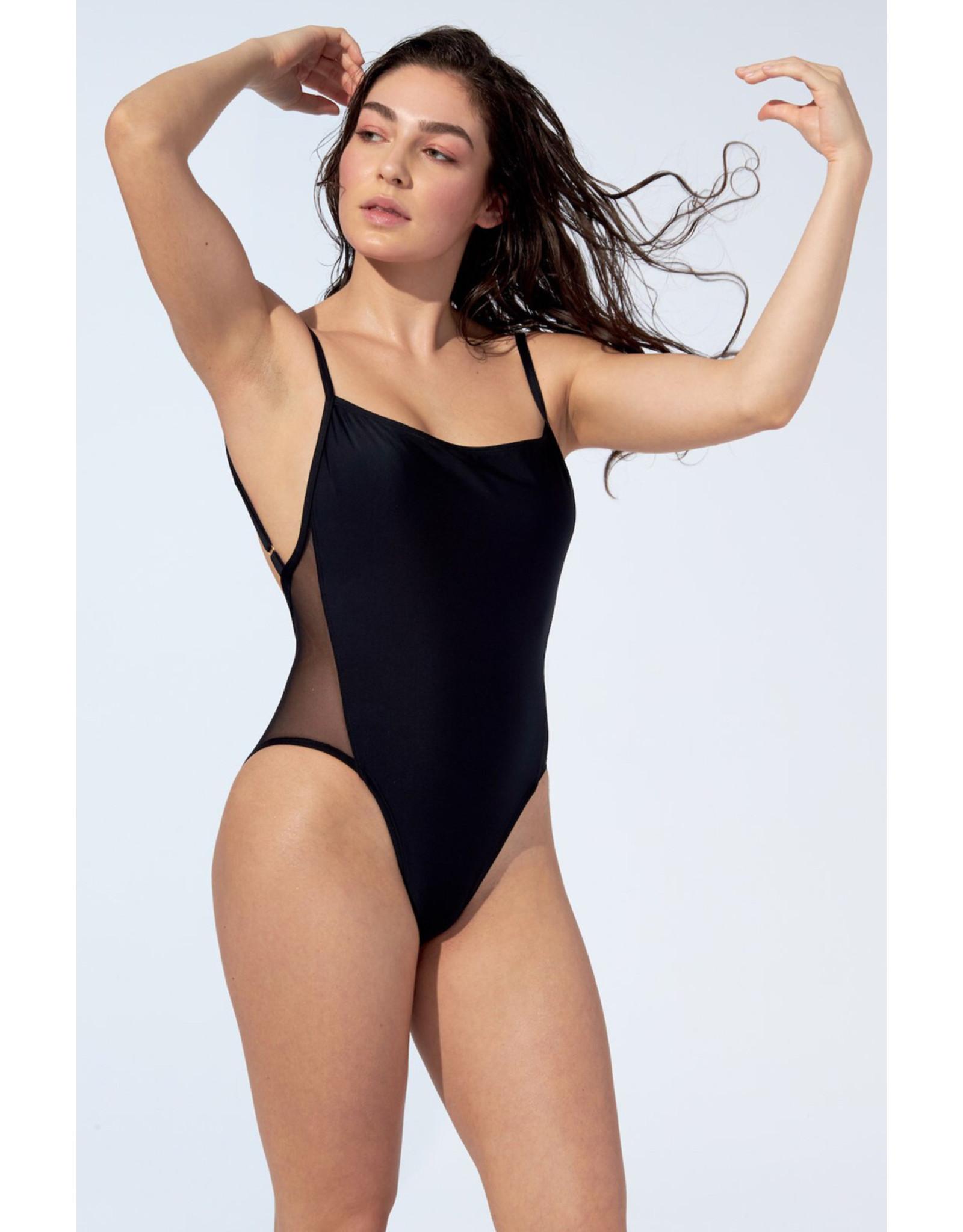 Selfish Swimwear Une pièce Gisèle noir
