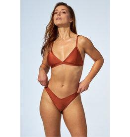 Selfish Swimwear Haut Pénélope bronze