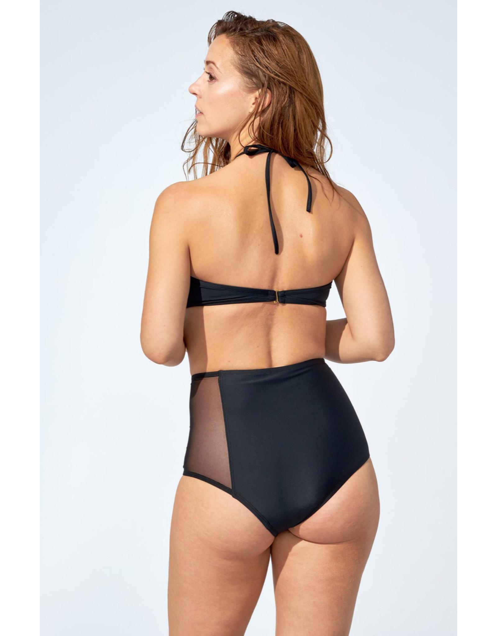 Selfish Swimwear Haut Ella noir