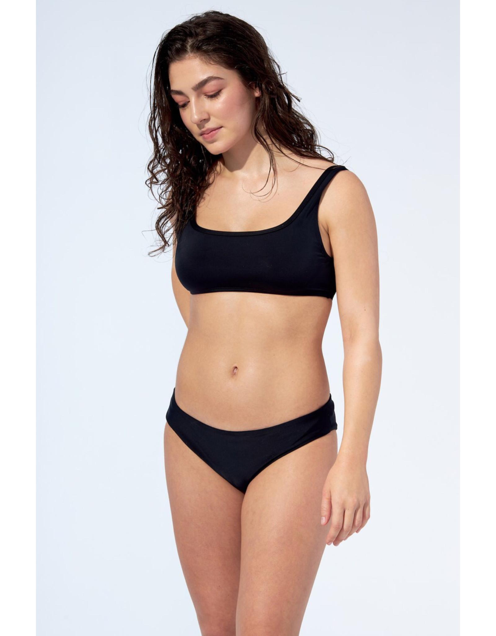 Selfish Swimwear Haut Gabrielle noir