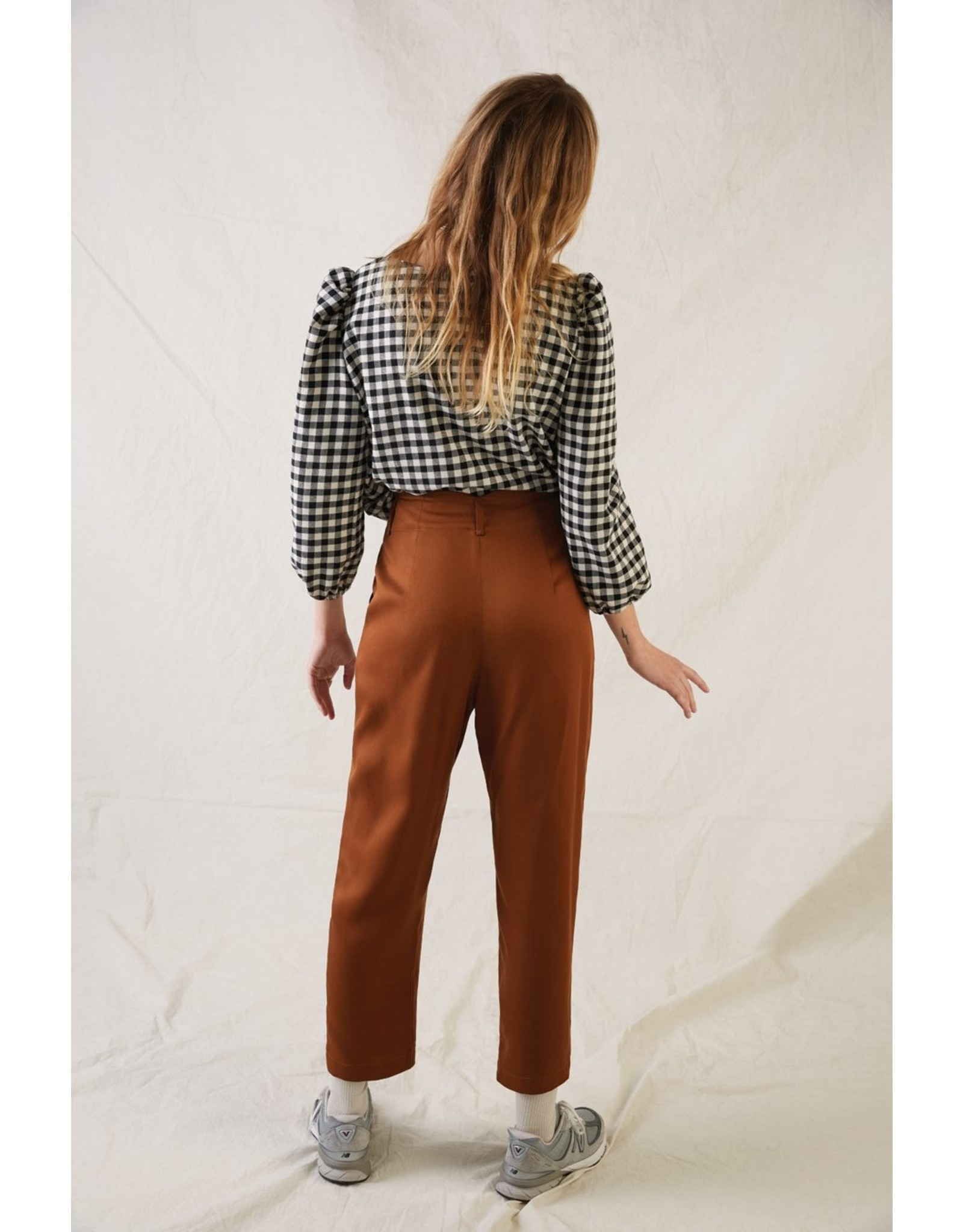 Eve Gravel Pantalon Keaton copper