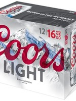 Coors Light - 12x12oz Cans