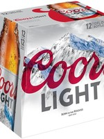 Coors Light 12x12oz Bottles