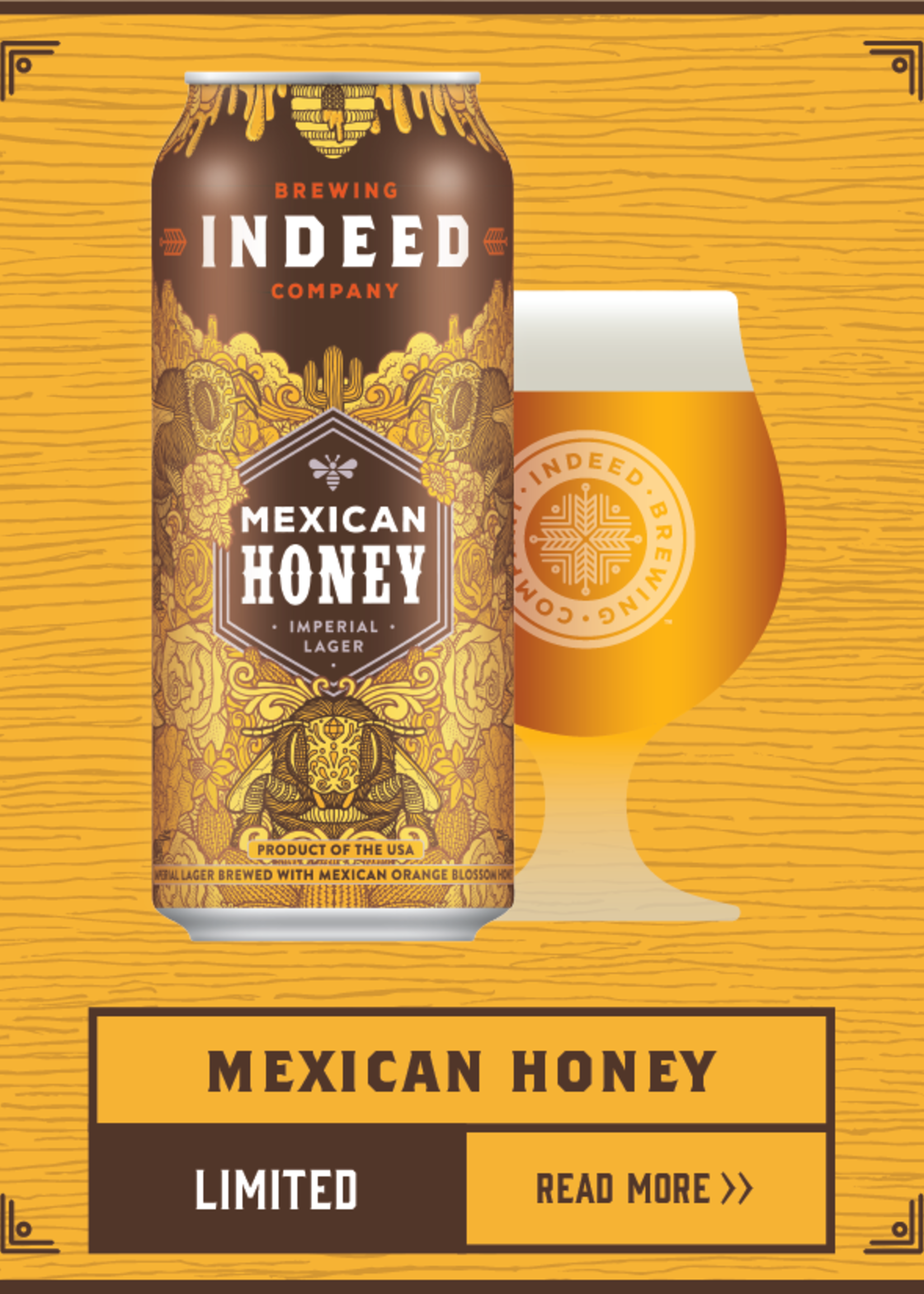 Indeed Mexican Honey Lager