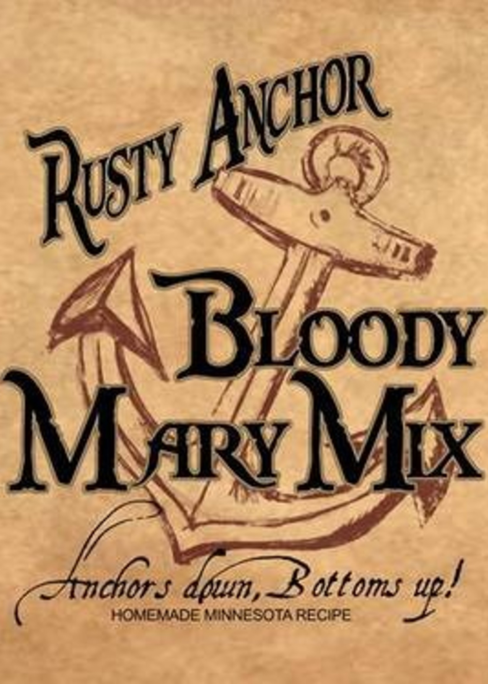 Rusty Anchor Spicy Bloody Mary Mix
