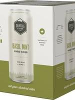 Seattle Cider Basil Mint