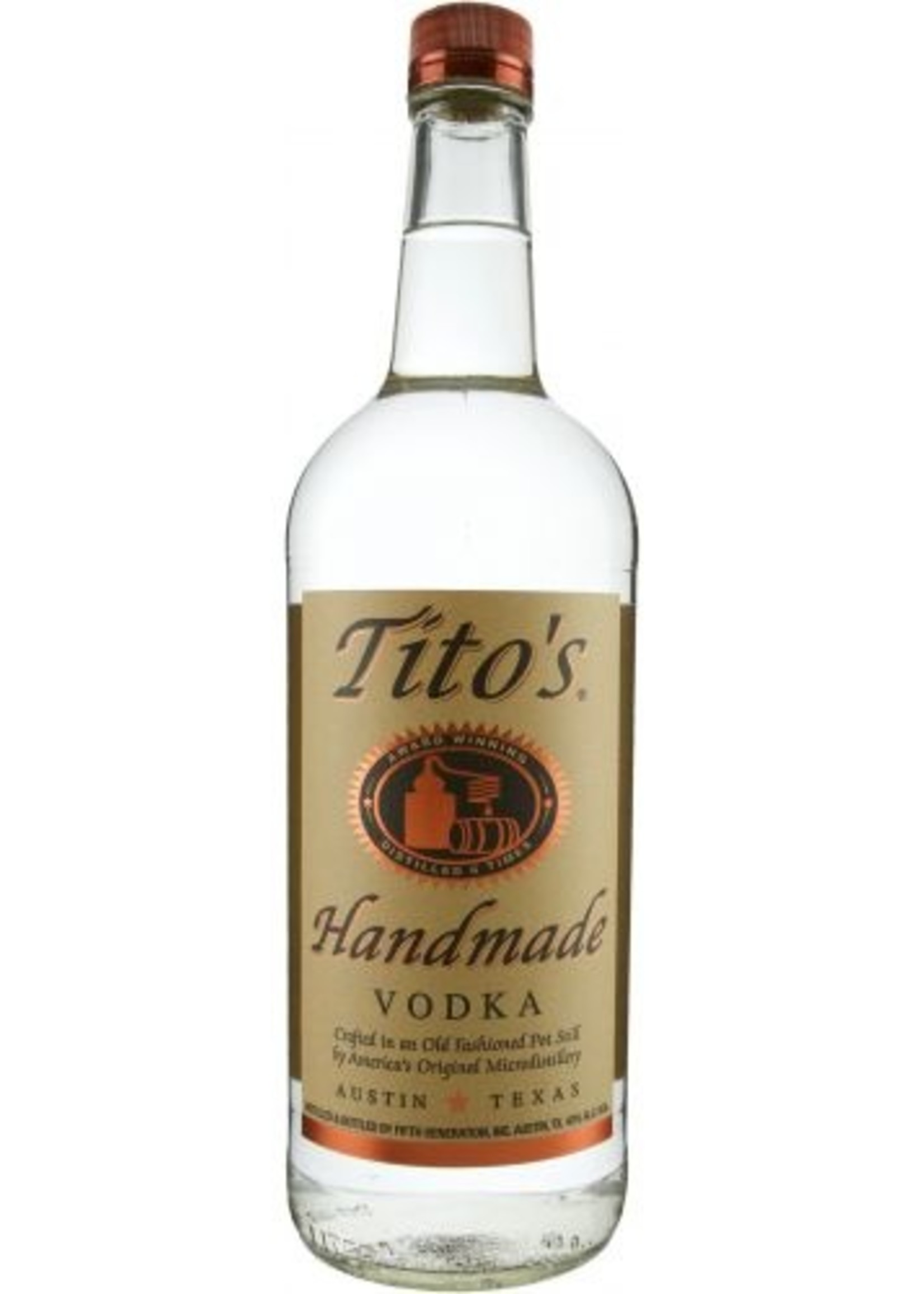 Titos Vodka LTR