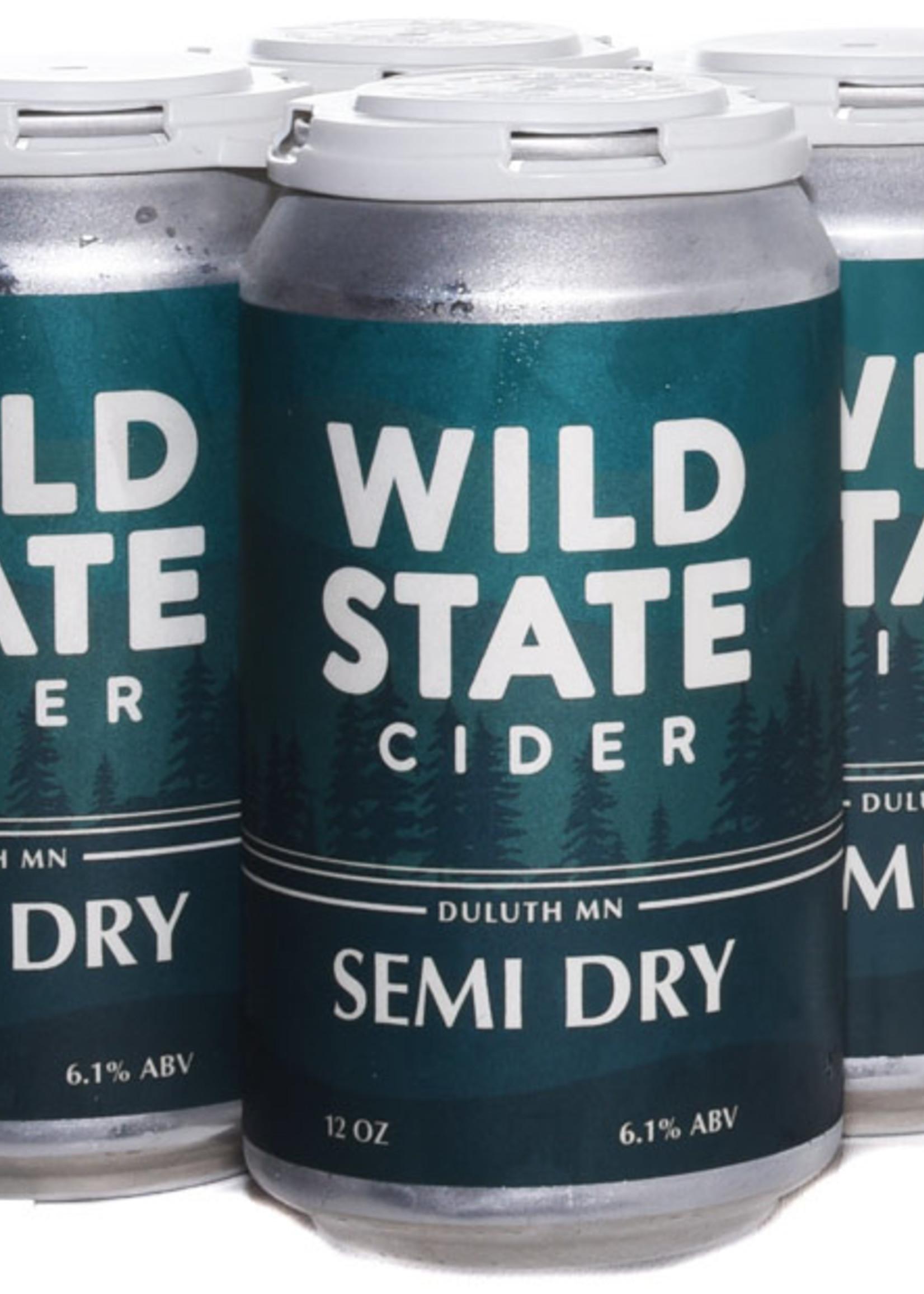 Wild State Semi-Dry Cider
