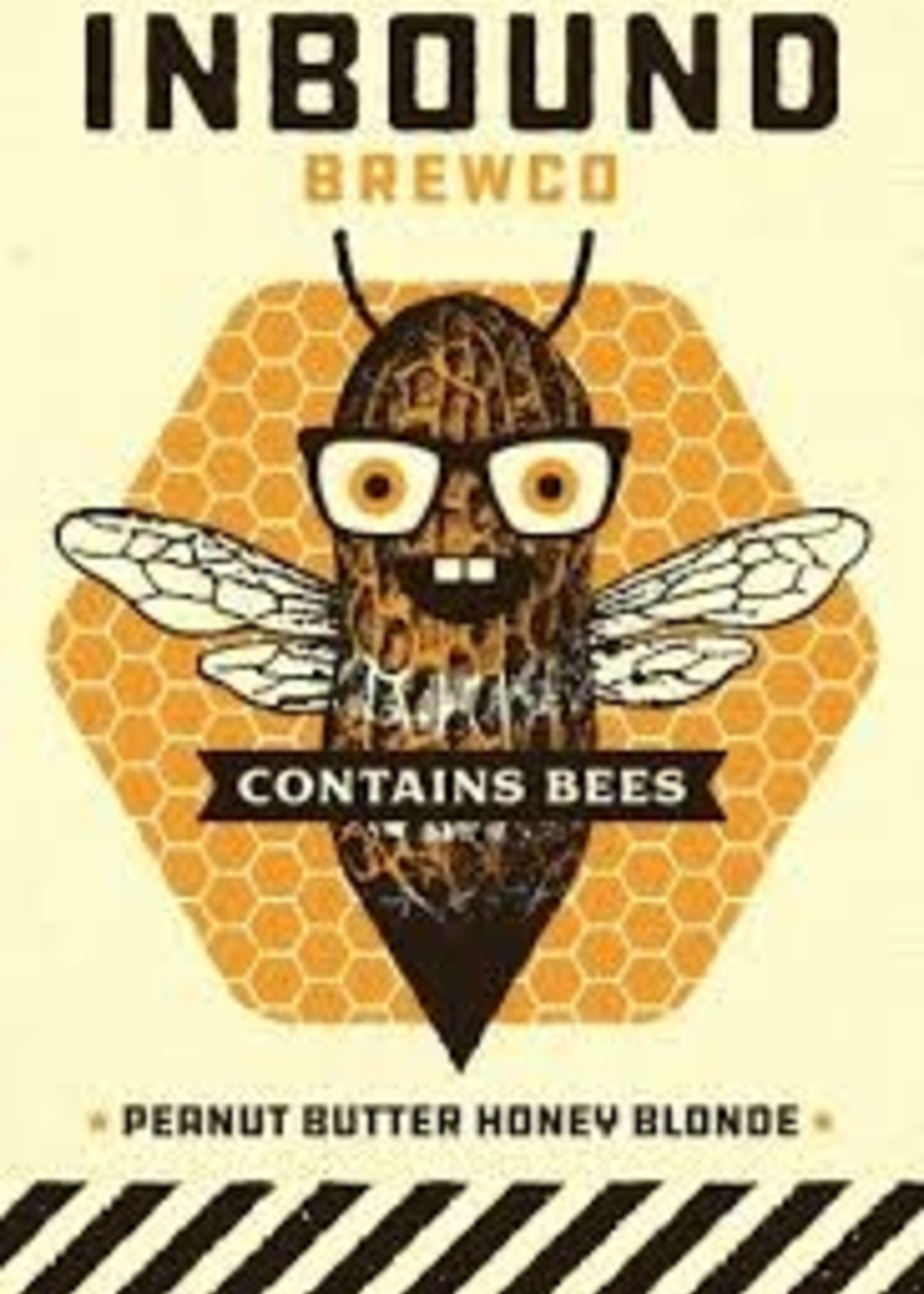 Inbound Contains Bees Peanut Butter Honey Blonde