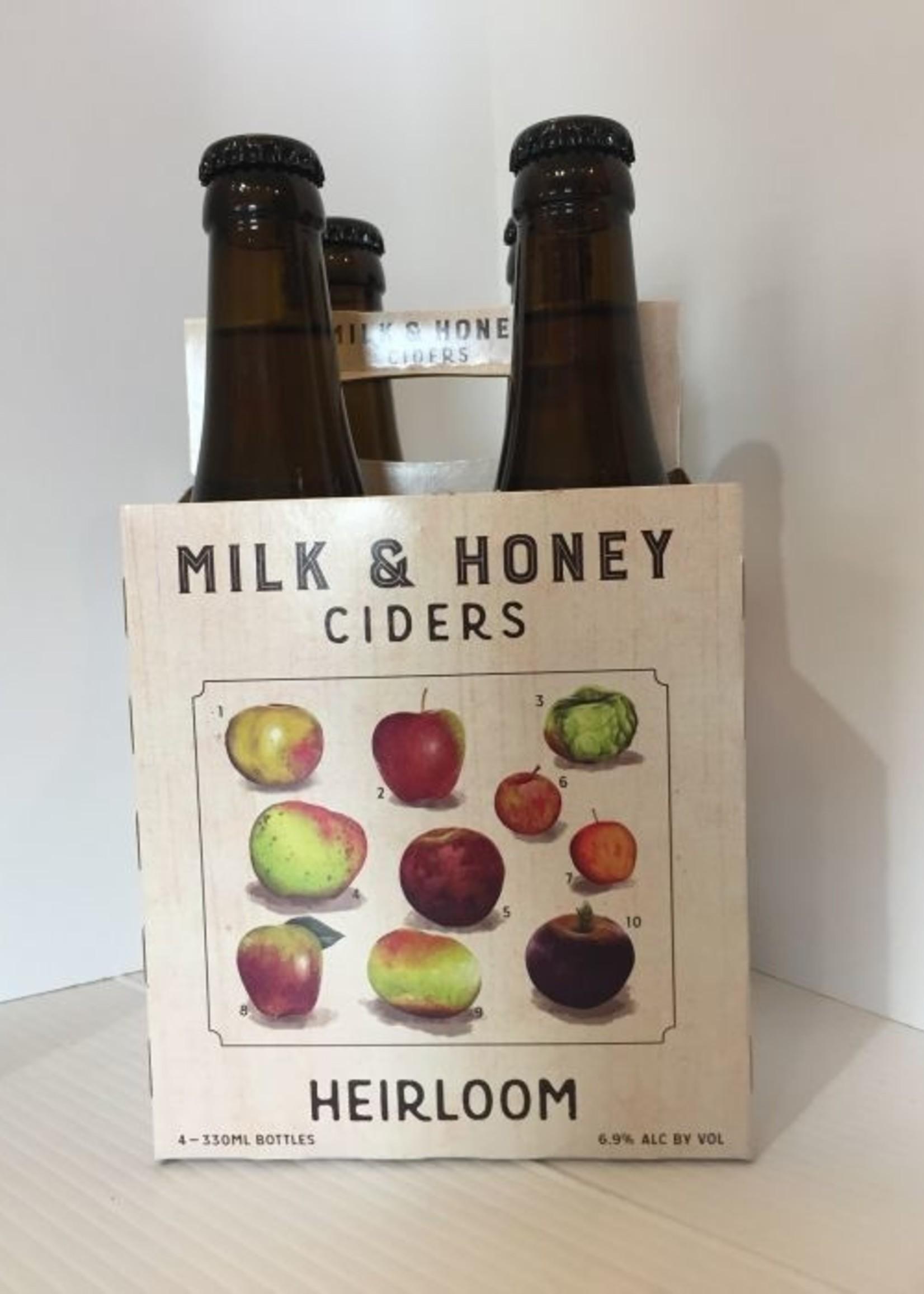 Milk & Honey Heirloom Cider