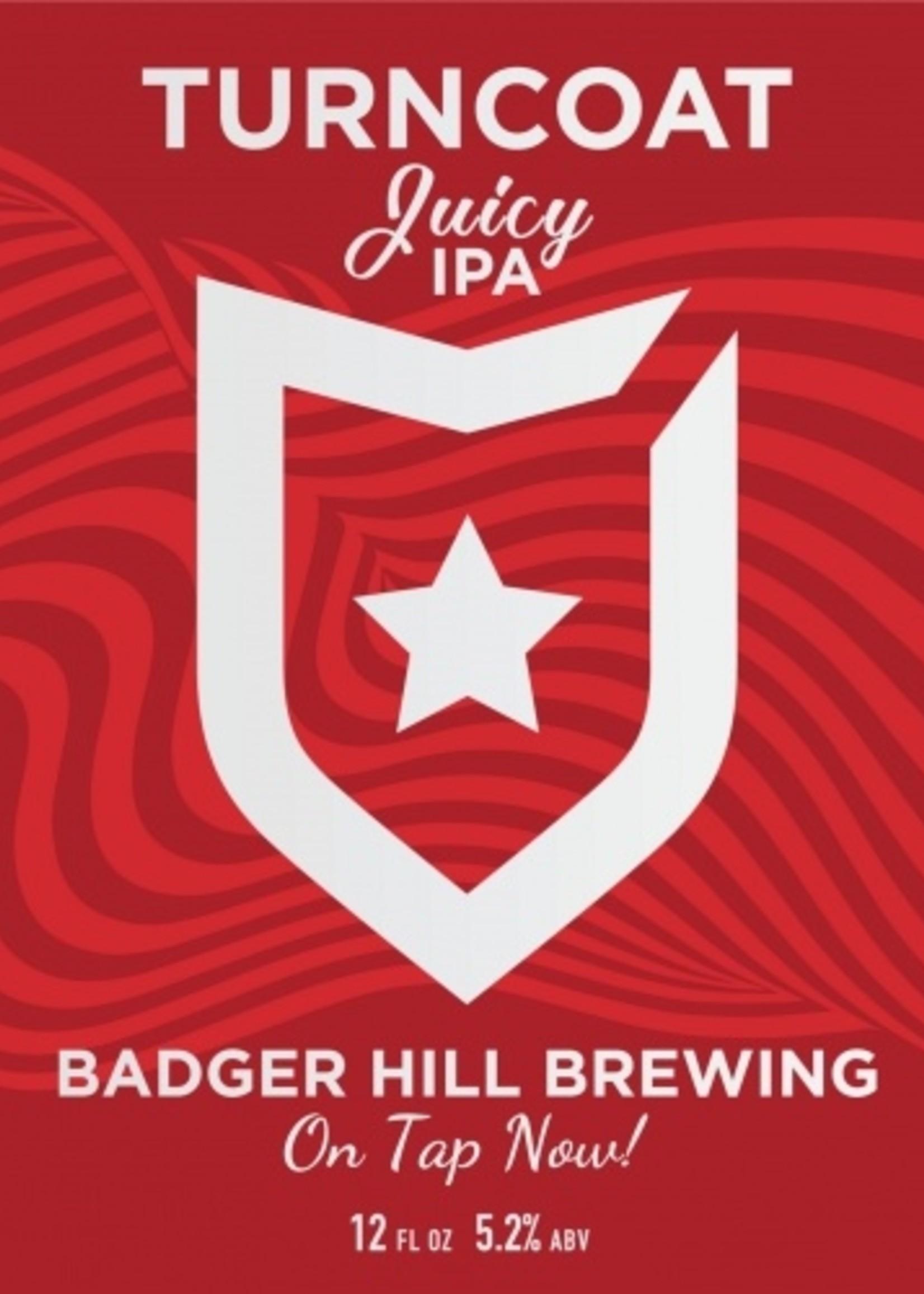 Badger Hill Turncoat Juicy IPA