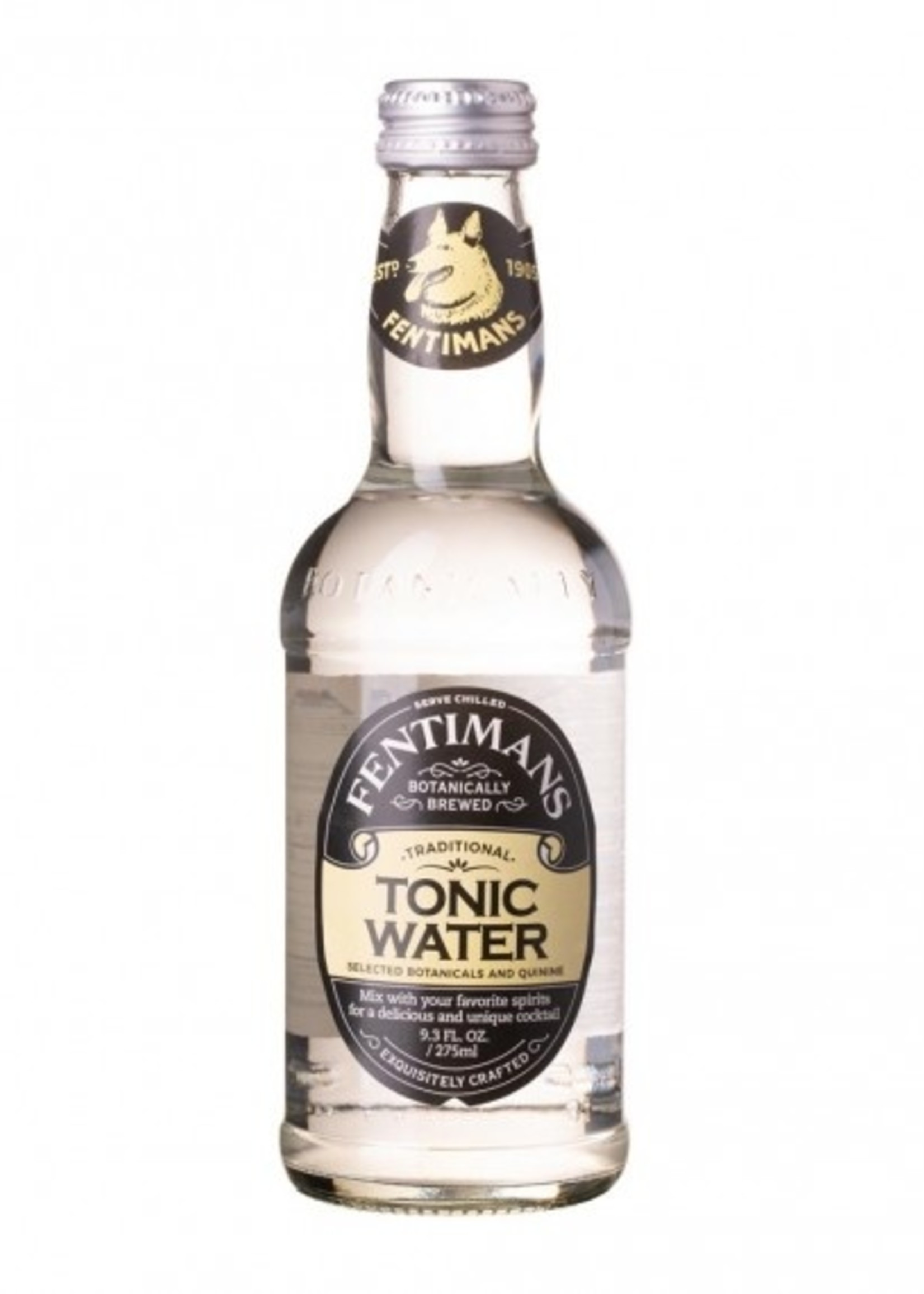 Fentimans Craft Tonic Water - 4x12oz Bottles