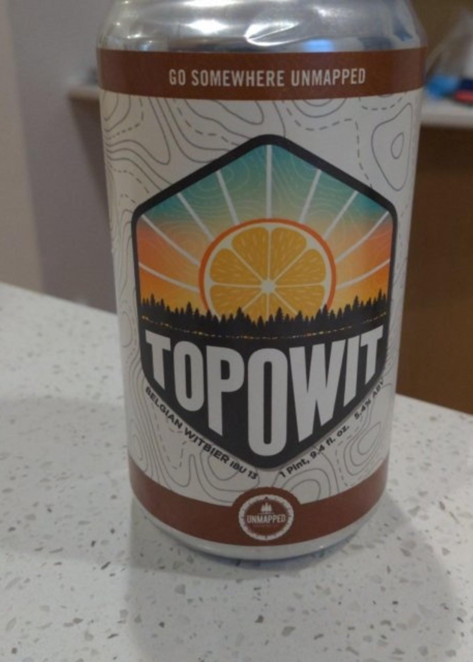Unmapped Topo Wit 6x12oz Cans