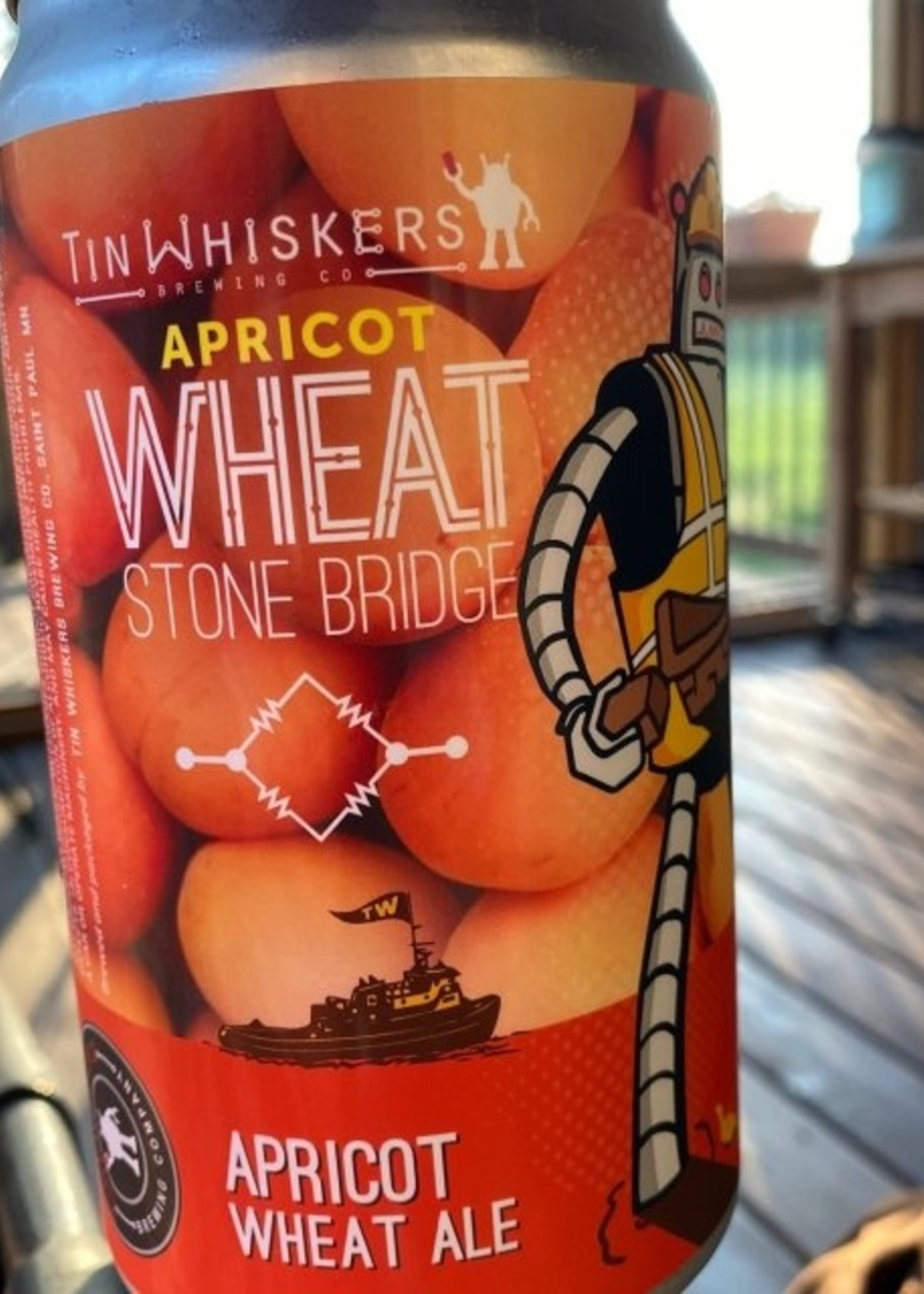 Tin Whiskers Stone Bridge Blueberry Wheat - 4x16oz Cans