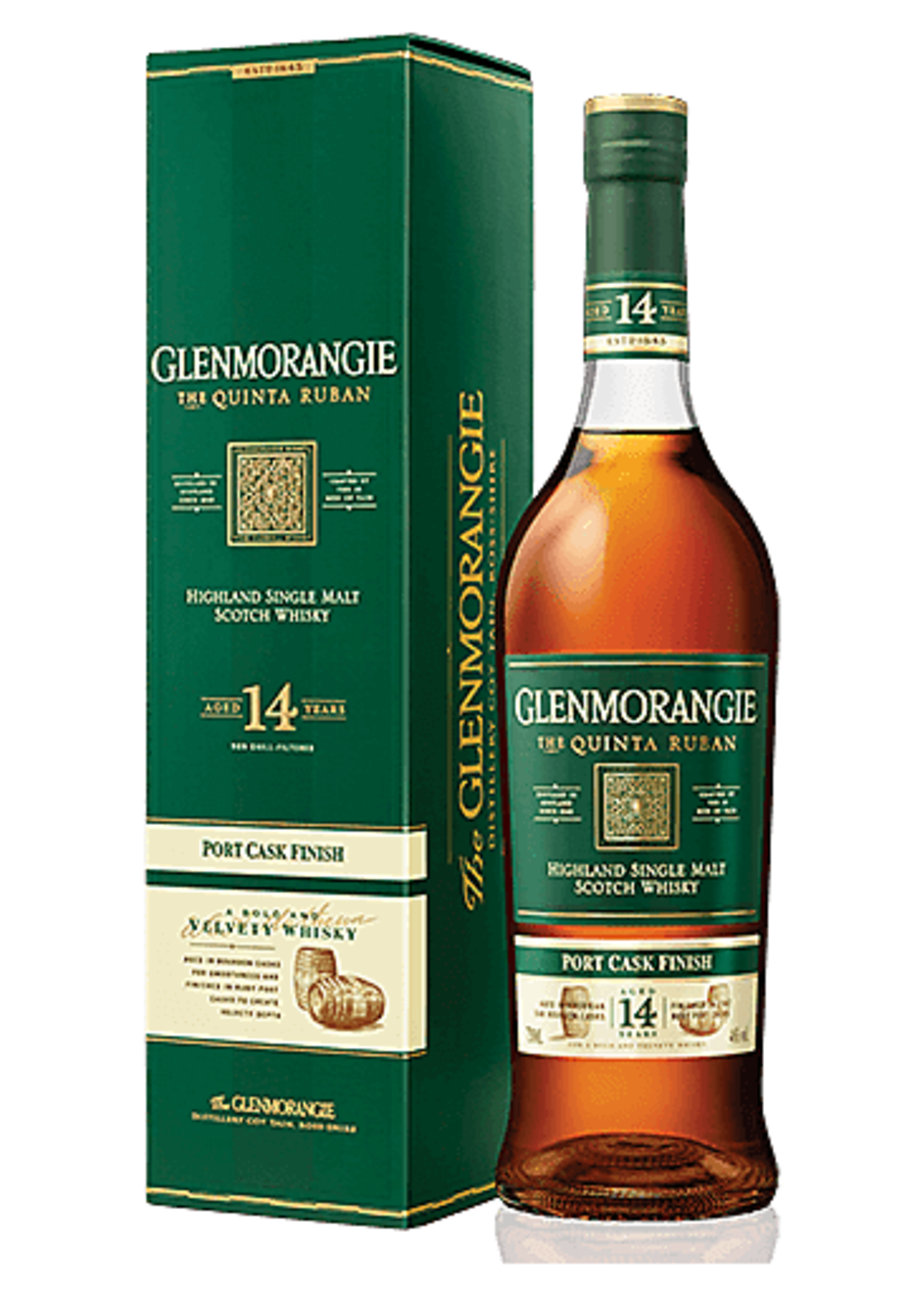 Glenmorangie Quinta Ruban 14 Year Scotch