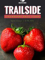 Duluth Cider Company Trailside Strawberry Basil Cider