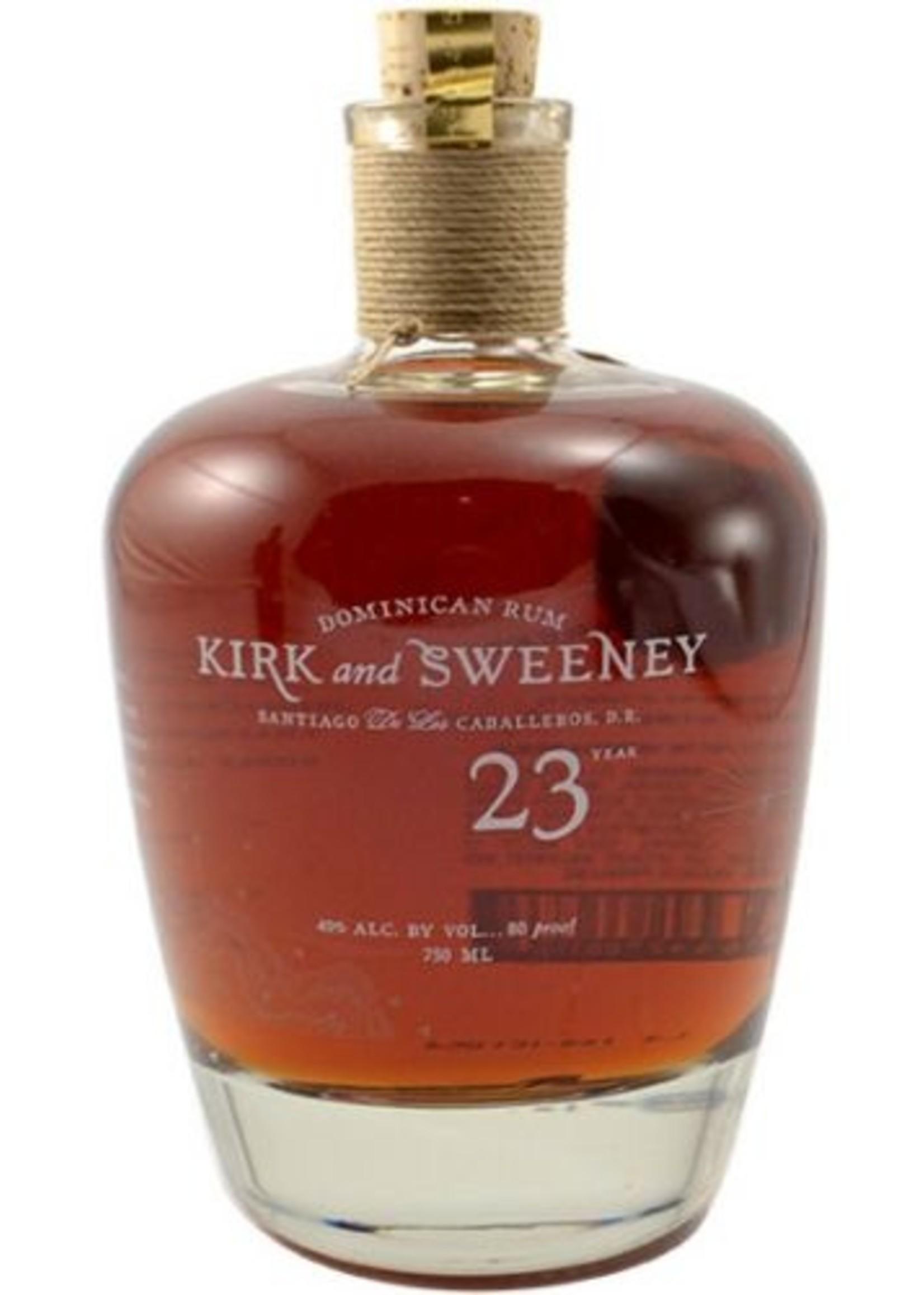 Kirk & Sweeney 23 Yr Rum