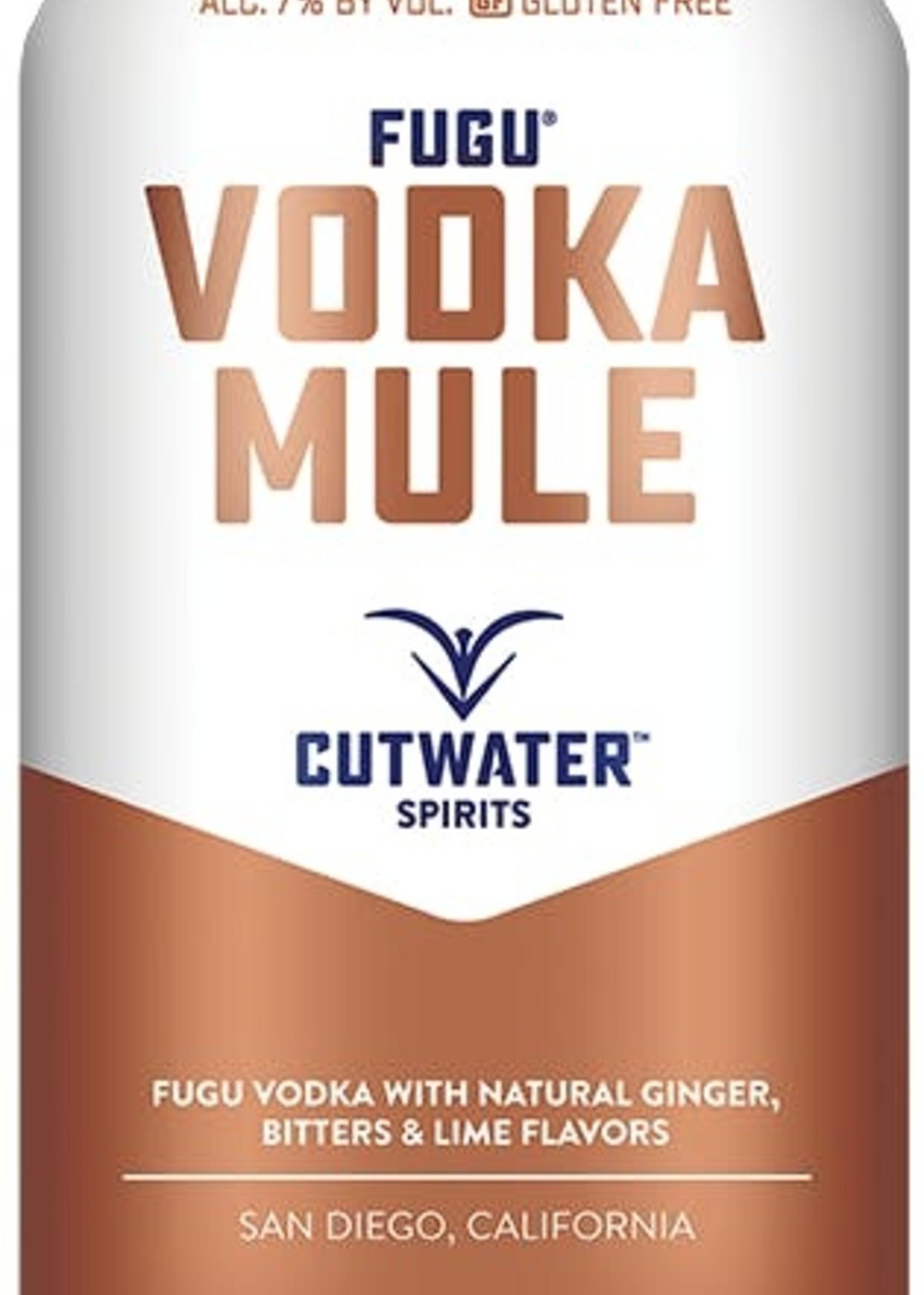 Cutwater Vodka Mule - 4x12oz Cans