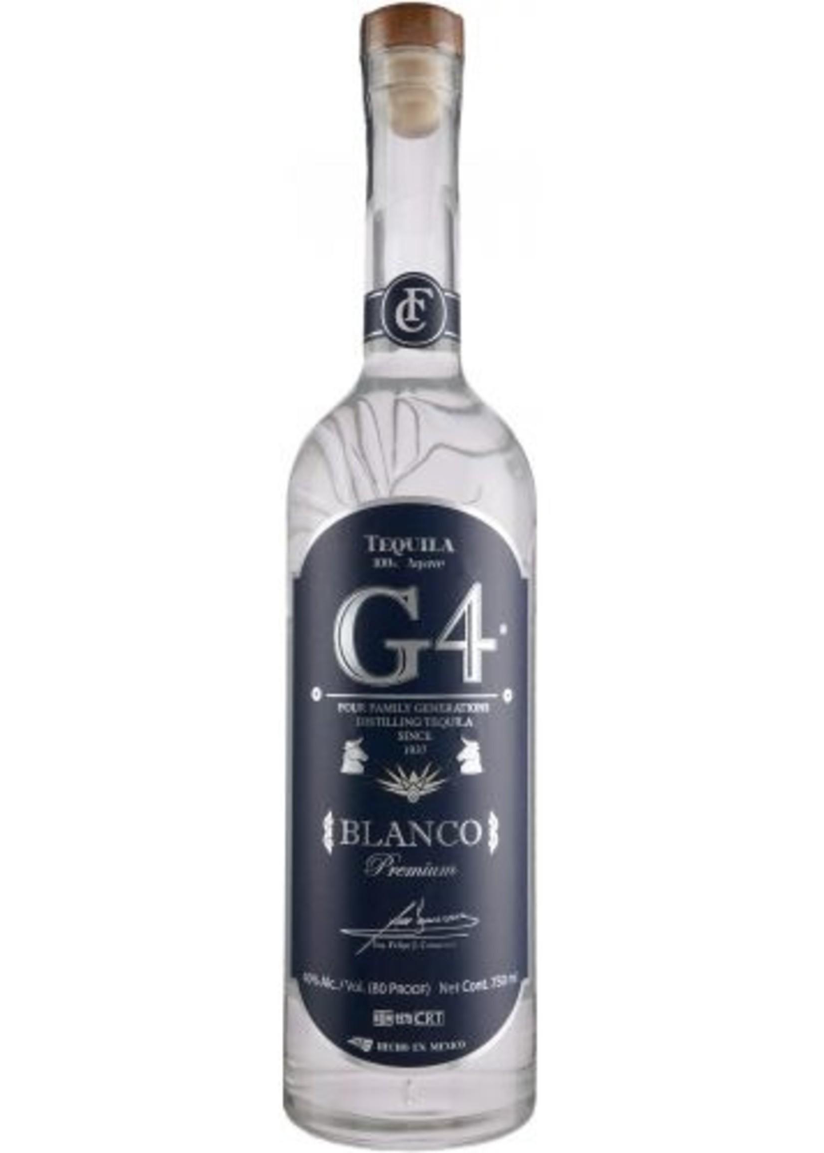 G4 Blanco Estate Grown Tequila