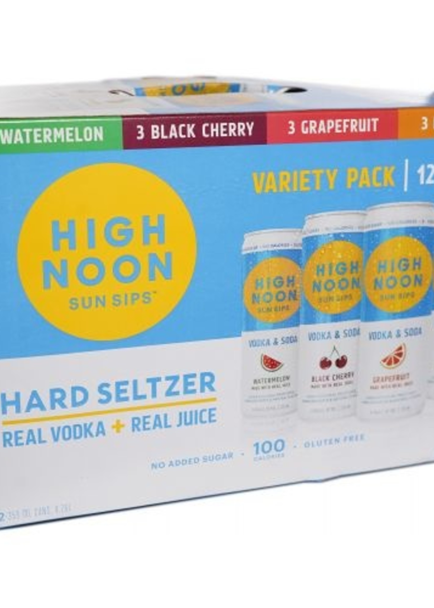 High Noon Variety Pack - 8x12oz Cans