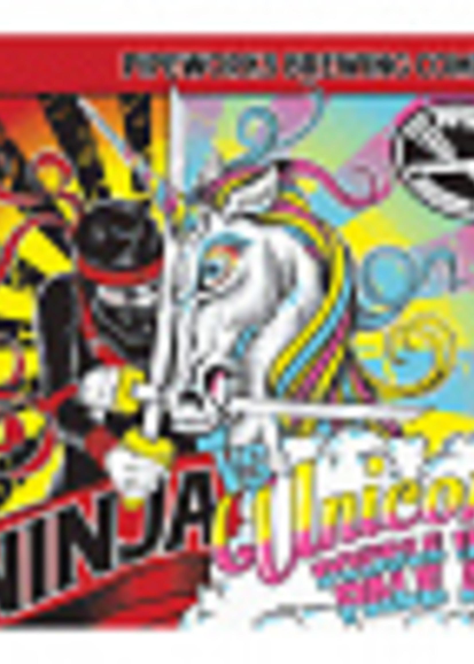 Pipeworks Ninja vs Unicorn DIPA 4x16oz Cans