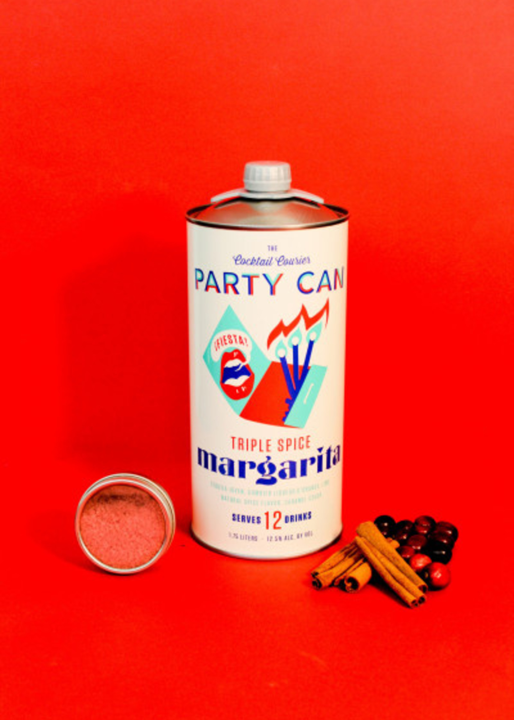 Cocktail Courier Party Can RTD Margarita 1.75L