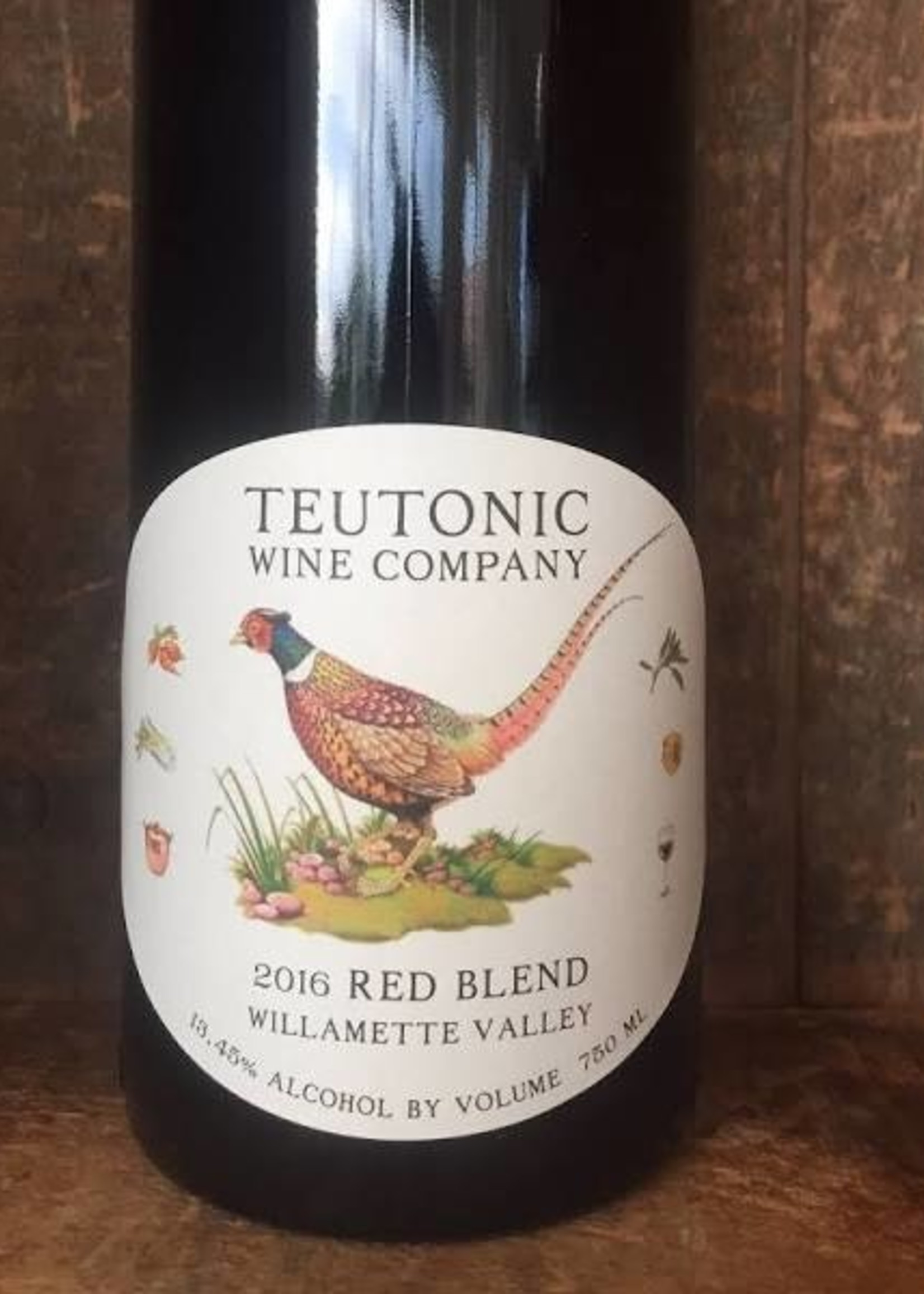 Teutonic Recorded in Stereo Red Blend