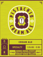 Indeed Pistachio Cream Ale - 6x12oz Cans