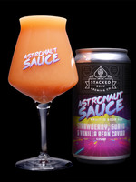 Stacked Deck Astronaut Sauce Strawberry, Vanilla Bean Caiar, Guava - 4x12oz Cans