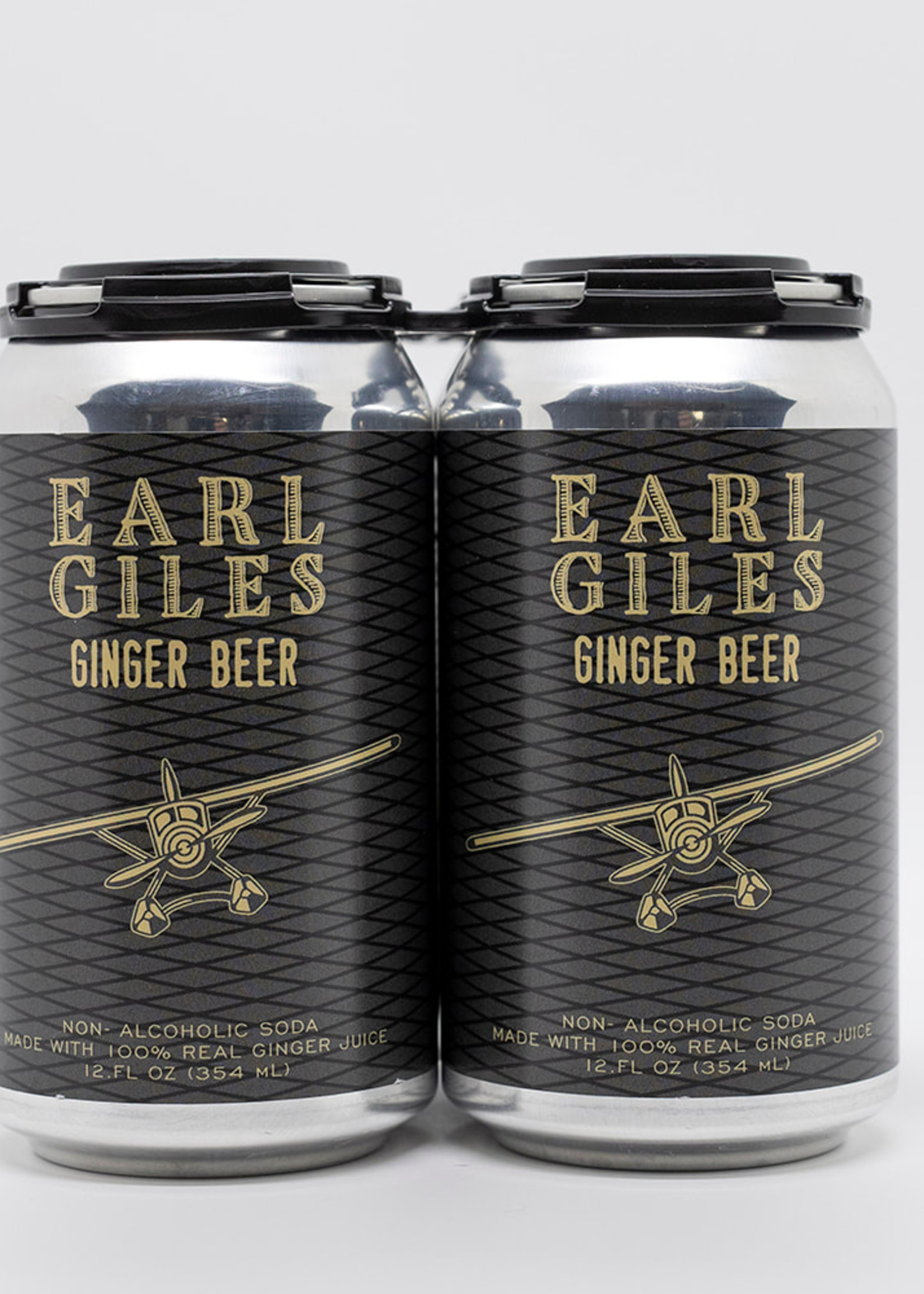 Earl Giles Ginger Beer - 4x12oz Cans