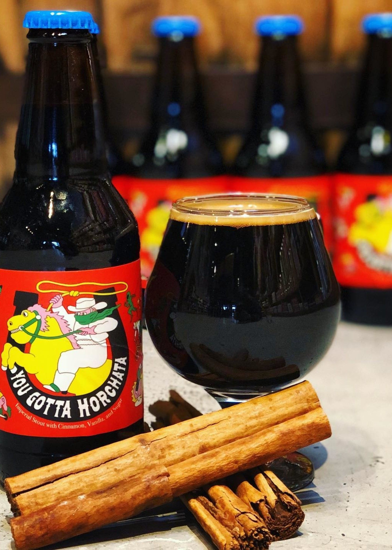 Prairie Artisan Ales You Gotta Horchata Imperial Stout with Cinnamon, Vanilla and Sugar