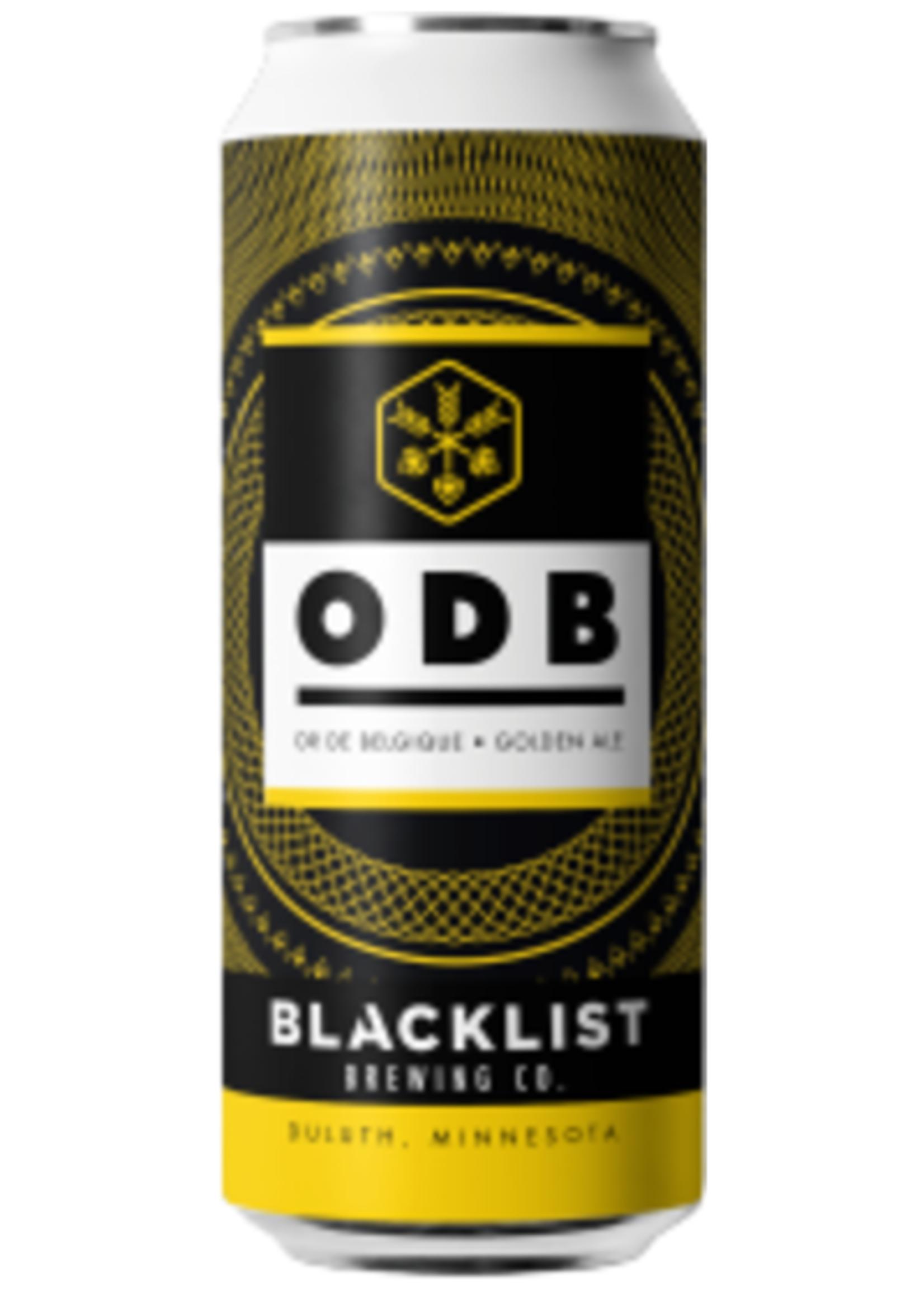 Blacklist Ore De Belgique 4x16oz Cans