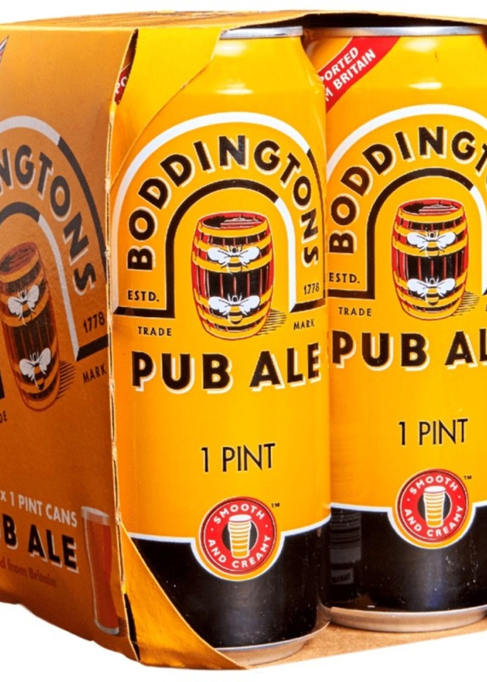 Boddingtons Pub Ale - 4x16oz Nitro Cans