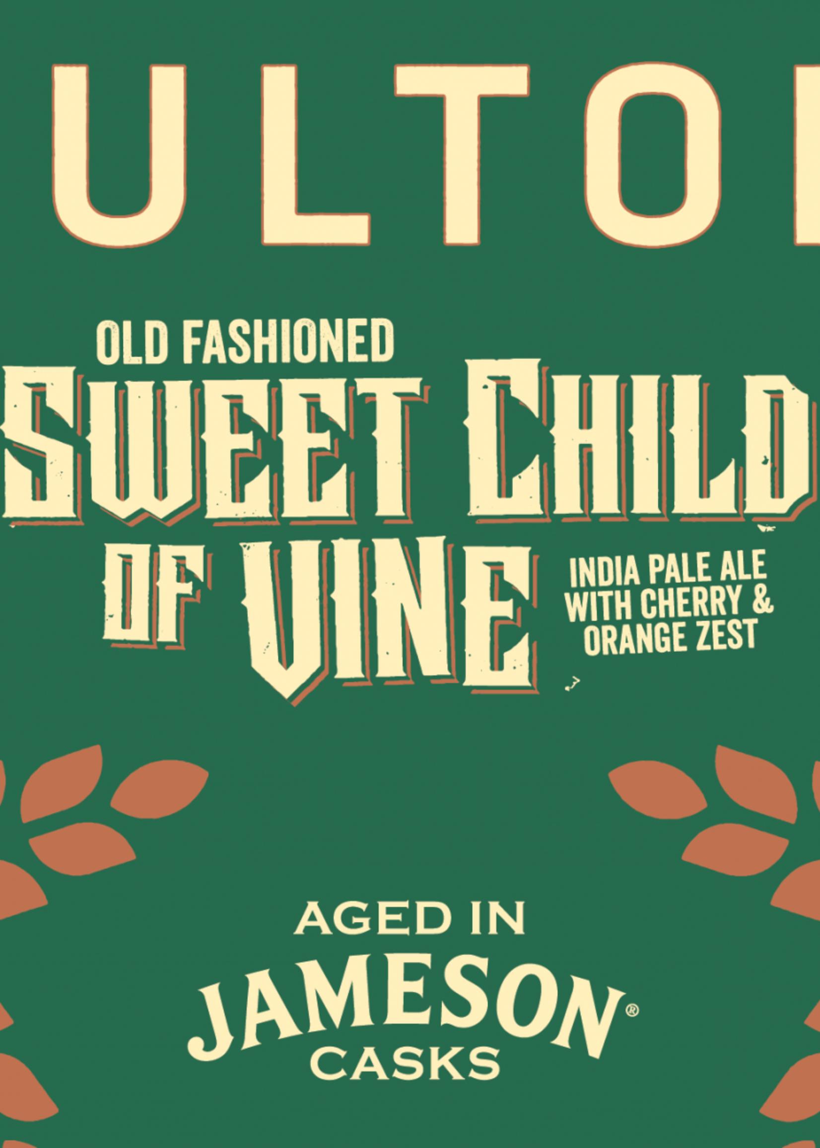 Fulton Old Fashioned Sweet Child of Vine IPA w/ Cherry and Orange Zest - 4x12oz Bottles