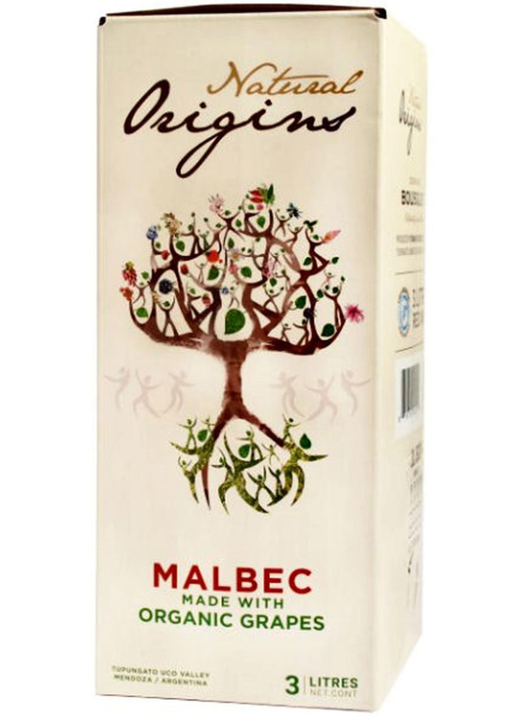 Bousquet Natural Origins Malbec Organic - 3 LTR Box
