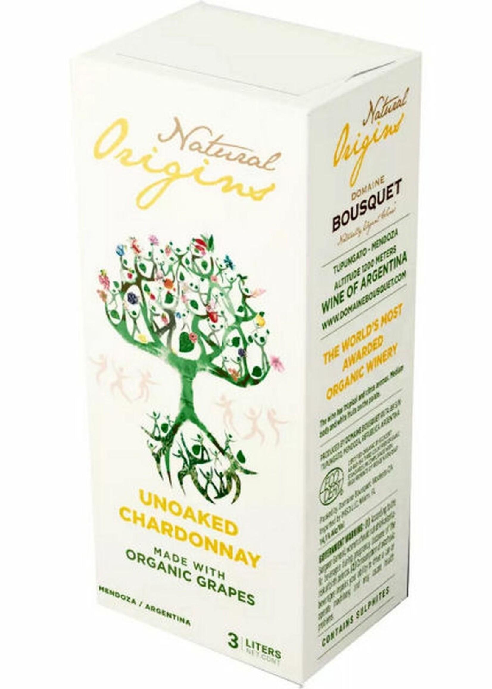 Bousquet Natural Origins No Oak Chardonnay Organic - 3 LTR Box