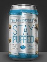 Tin Whiskers Stay Puffed Rice Crispy and Marshmallow Lager - 4x12oz Cans