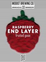 Modist Endlayer Double Raspberry Gose - 4x16oz Cans