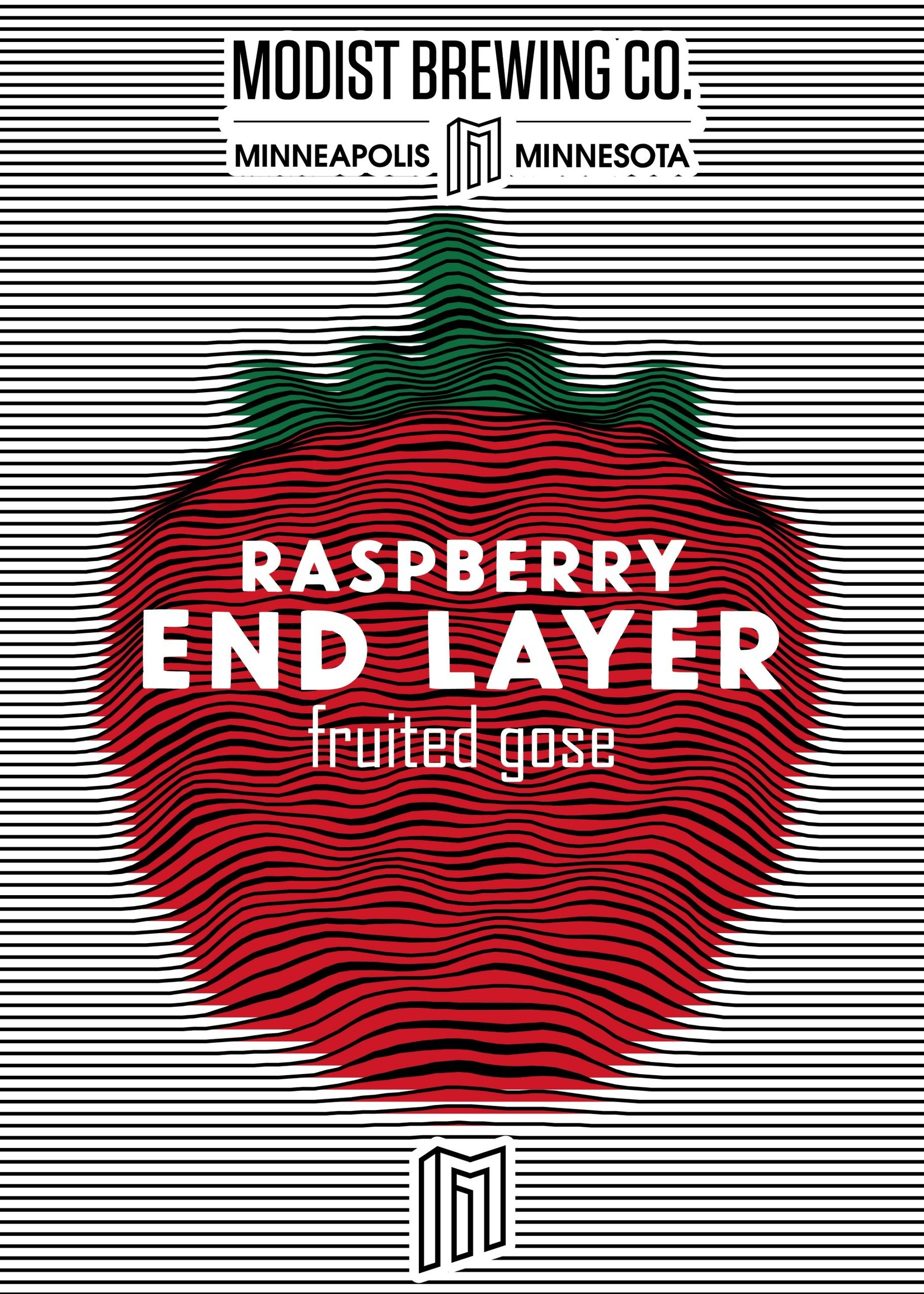 Modest Endlayer Double Raspberry Gose - 4x16oz Cans
