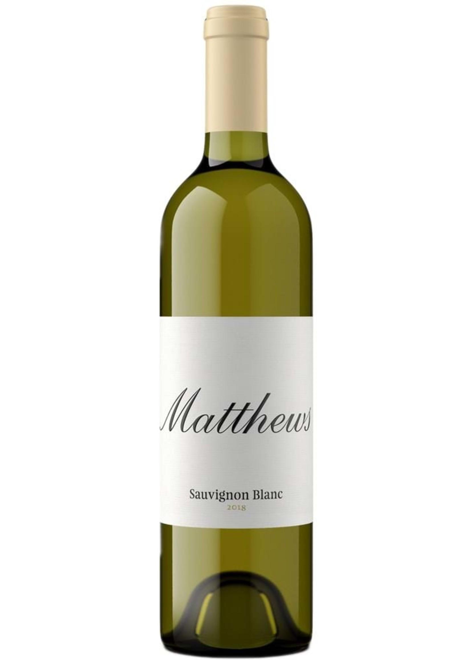 Matthews Sauvignon Blanc, Columbia Valley, WA