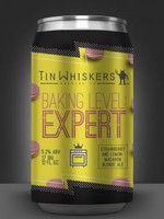Tin Whiskers Baking Level: Expert Strawberry and Lemon Macaron Blonde Ale - 4x12oz Cans