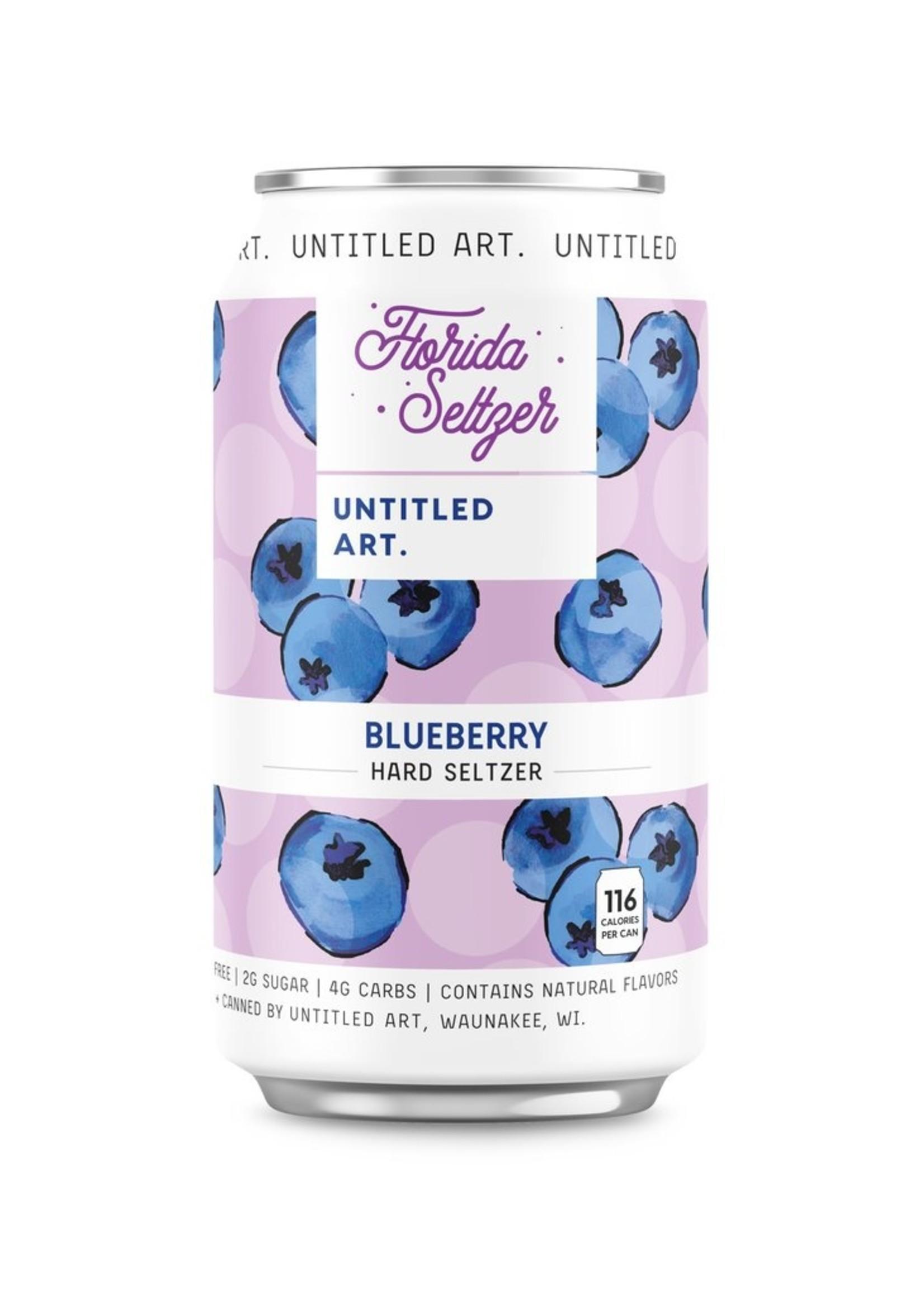Untitled Art/Florida Seltzer Blueberry Seltzer - 6x12 oz Cans