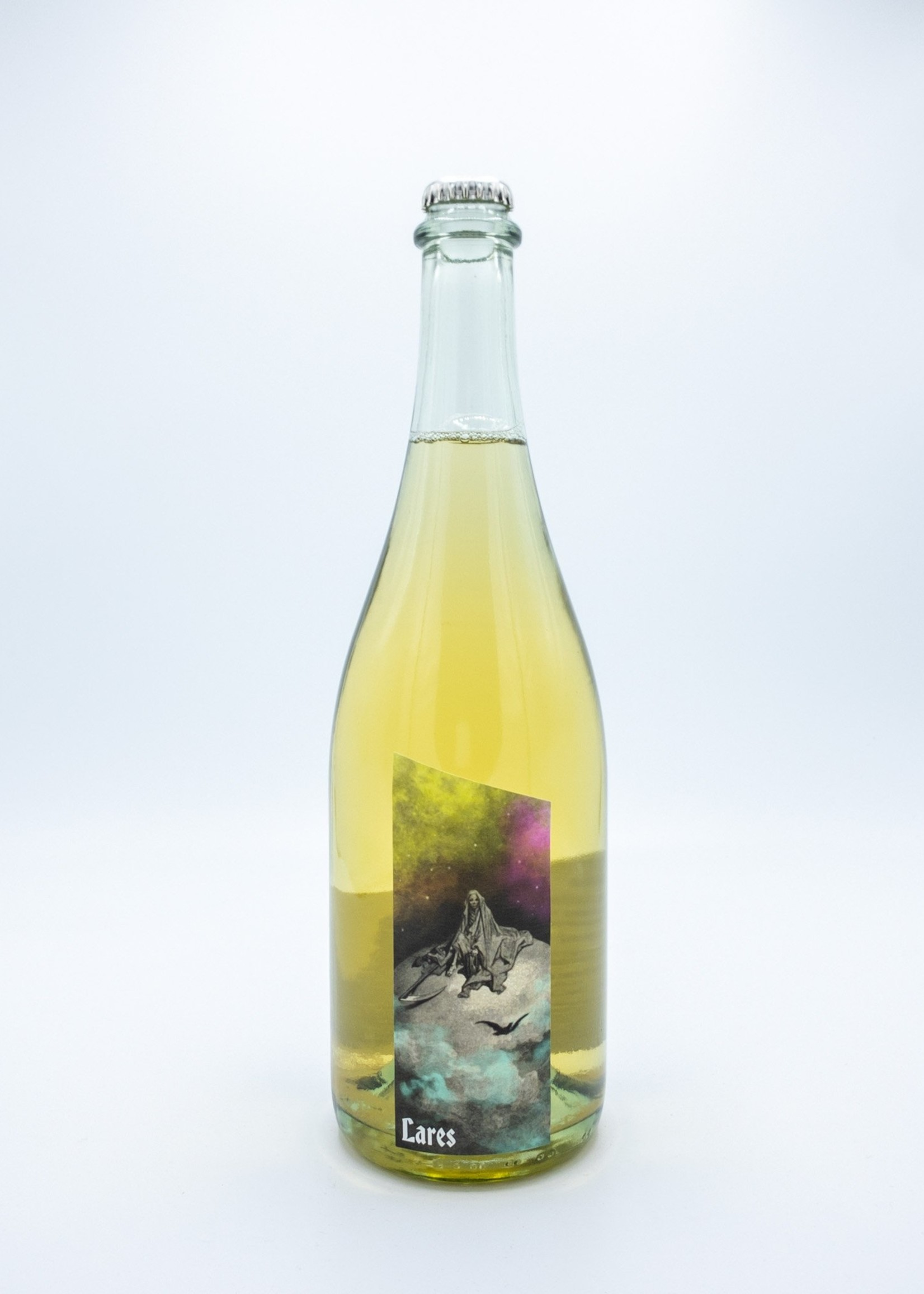 Statera Lares Sparkling Wine, Pinot Gris/Riesling/Apples, OR