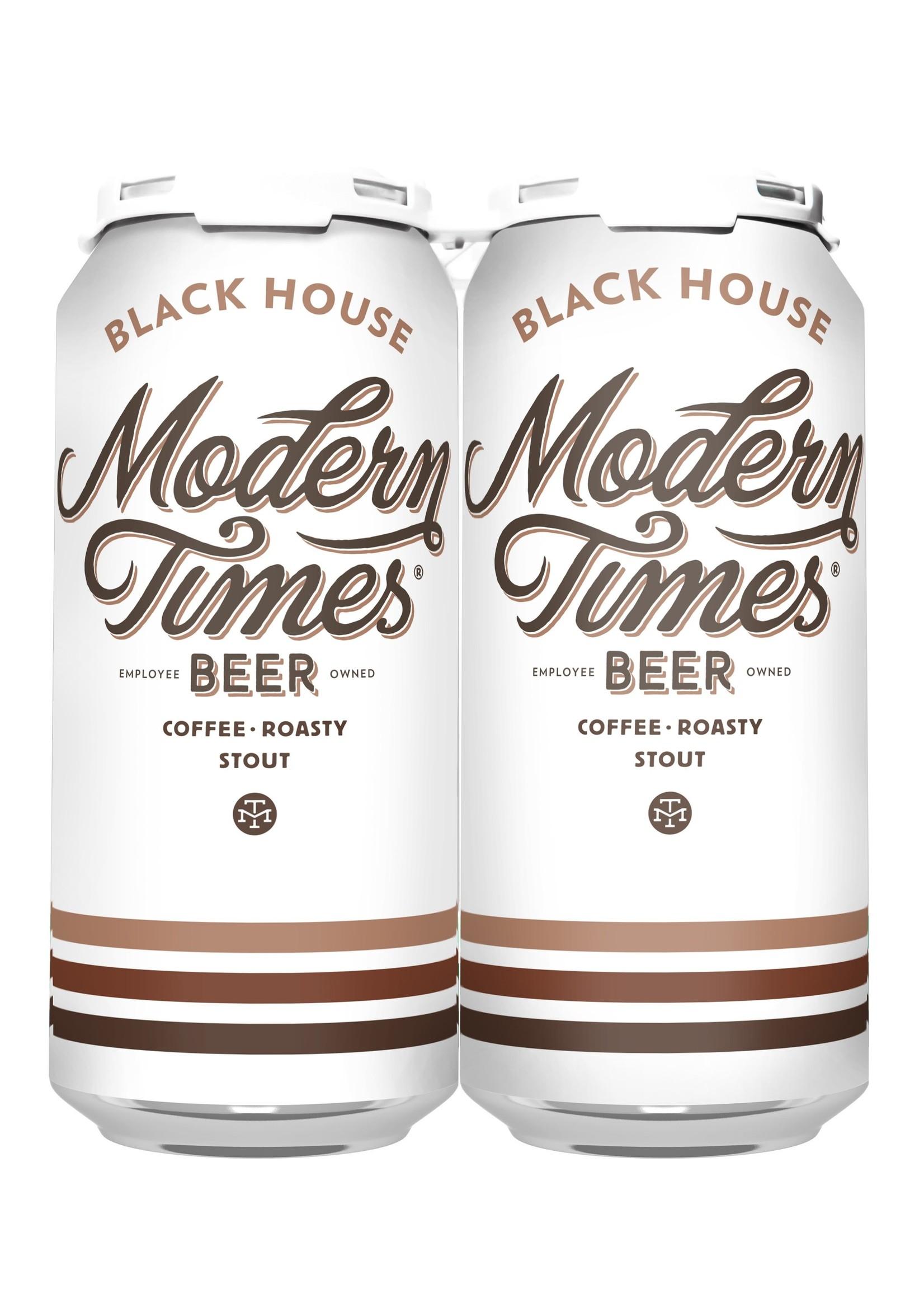 Modern Times Black House Stout - 4x16oz Cans