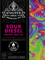 Stacked Deck Sour Diesel - 4 12oz Cans