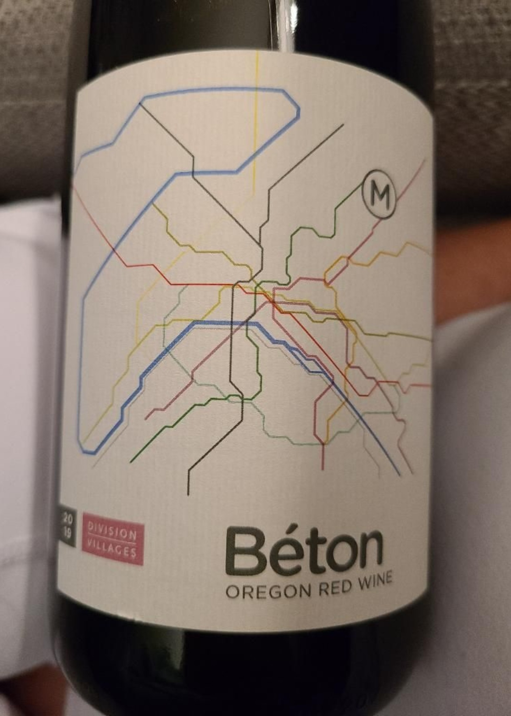 Division Winery Beton Red Blend, OR